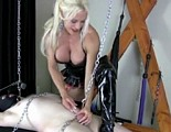 Ashlee Chambers tortures penis